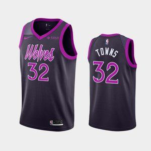 Minnesota Timberwolves Karl-Anthony Towns Jersey